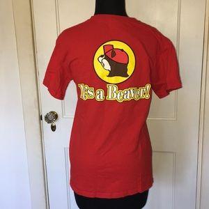 Buc-ee's Gas Texas T-shirt, unisex small